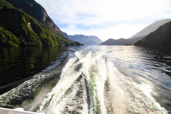 Lake Manapouri na Nova Zelândia