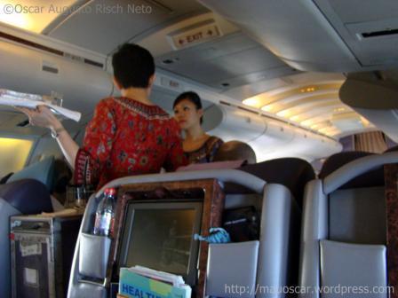 Aeromocas Singapore Airlines