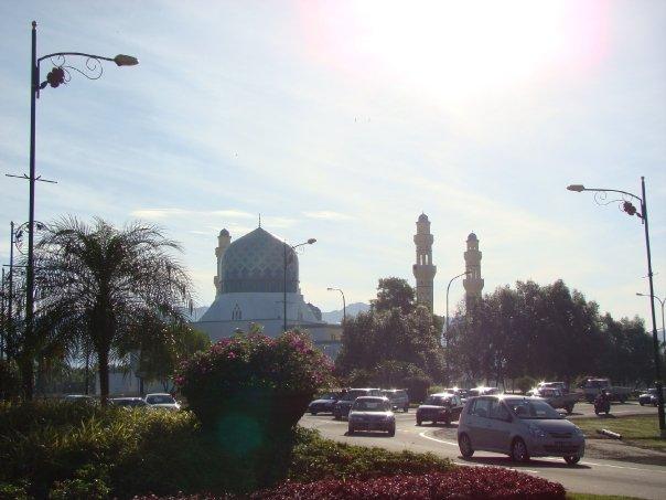 mesquita de Kota Kinabalu