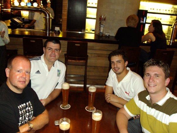 Oscar, Mauricio, David e Andy