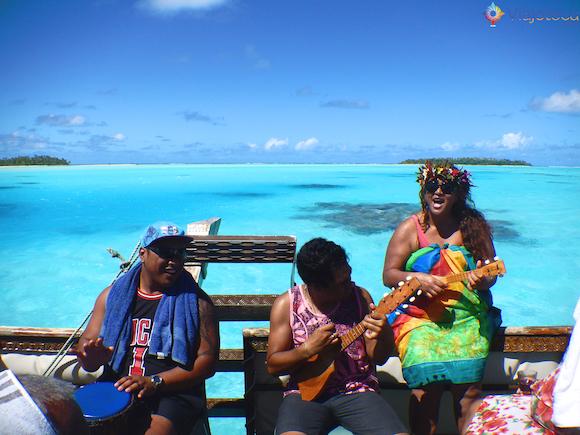 Polinésia Aitutuaki nas Ilhas Cook