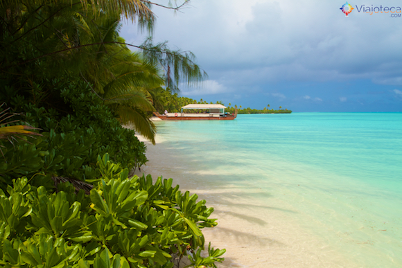 Akaimai em Aitutaki nas Ilhas Cook