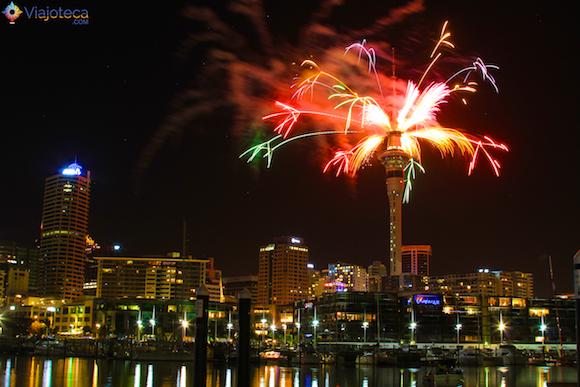 Ano Novo em Auckland na Nova Zelândia (1)