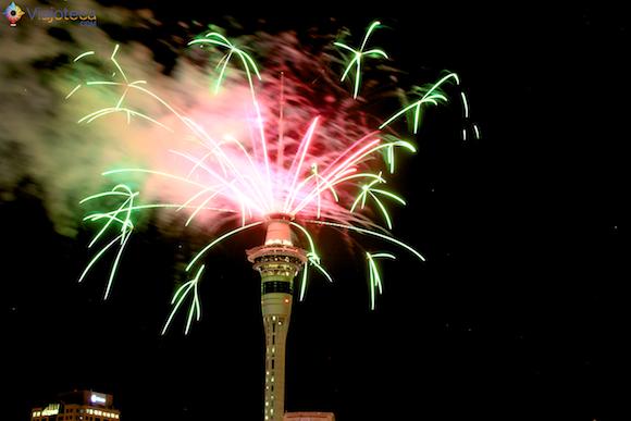 Ano Novo em Auckland na Nova Zelândia (2)