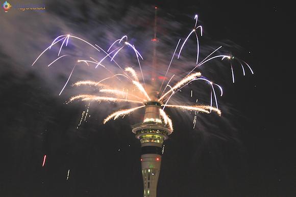 Ano Novo em Auckland na Nova Zelândia (3)