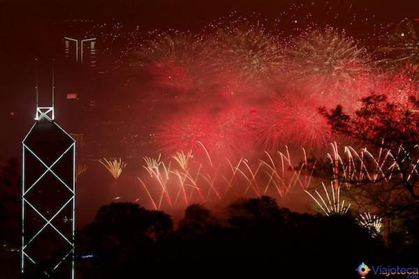 Ano Novo em Hong Kong
