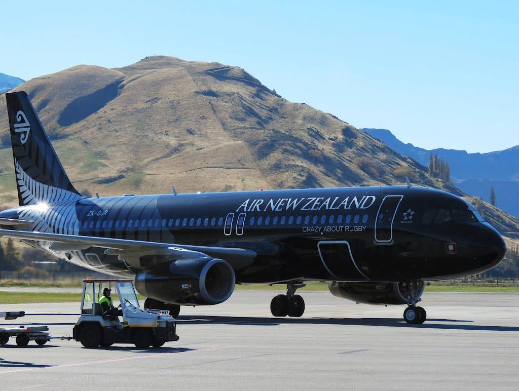Avião da Air New Zealand