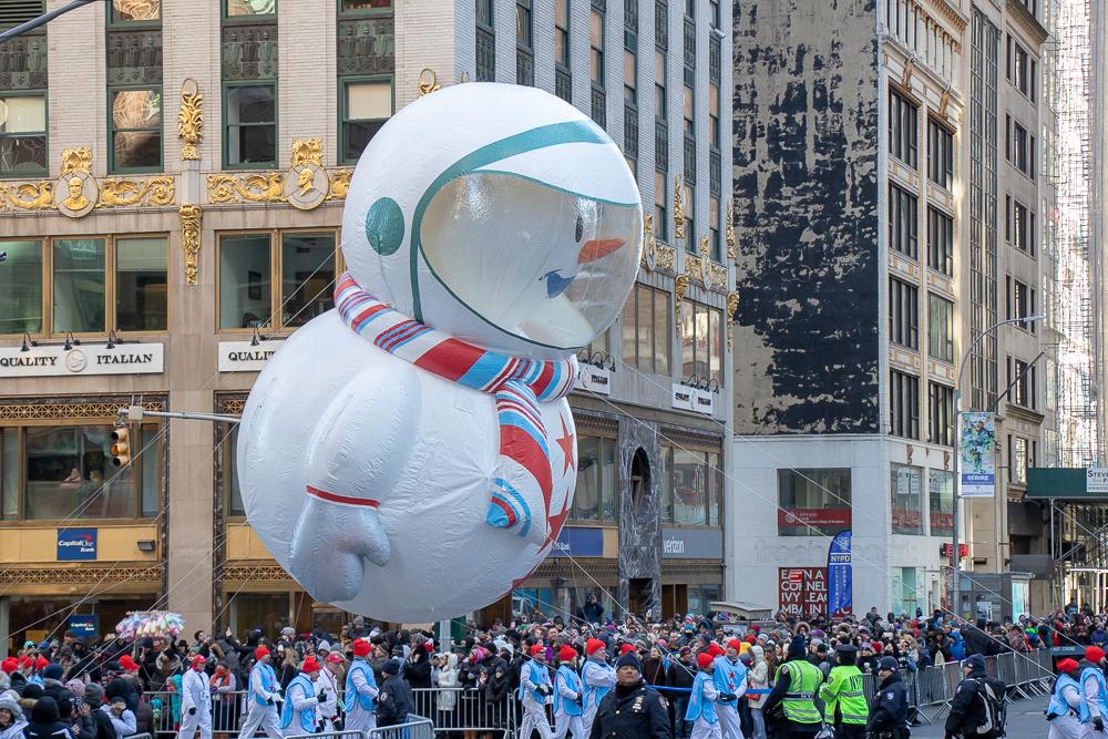 Balão da parada de Thanksgiving em Nova York