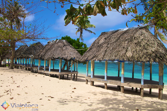 Beach Fale em Samoa