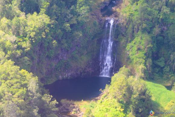 Cachoeira Passeio Helicóptero Hawaii jpg