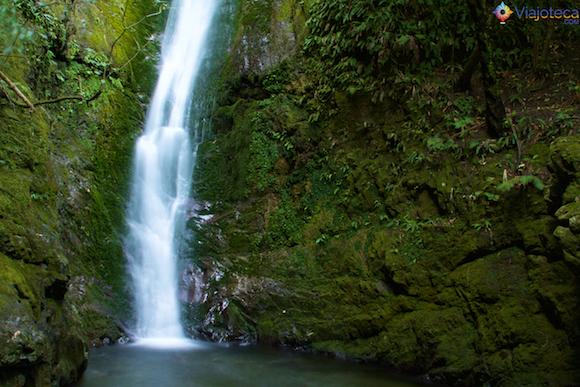 Cachoeira em Kaikoura na Nova Zelândia