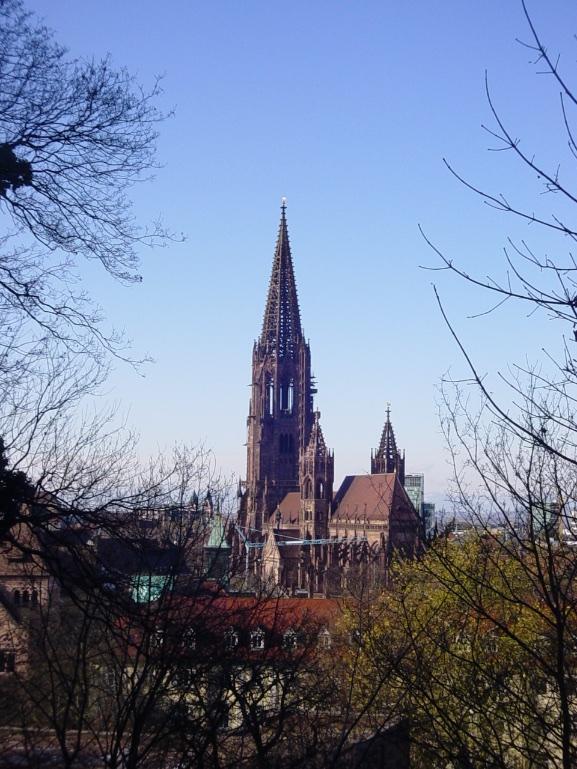 Catedral de Freiburg na Alemanha