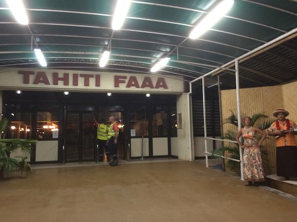 Aeroporto de Papeete no Tahiti