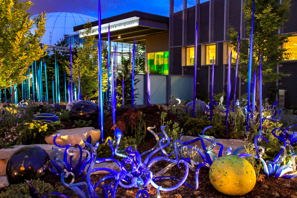 Chihuly Gardens em Seattle