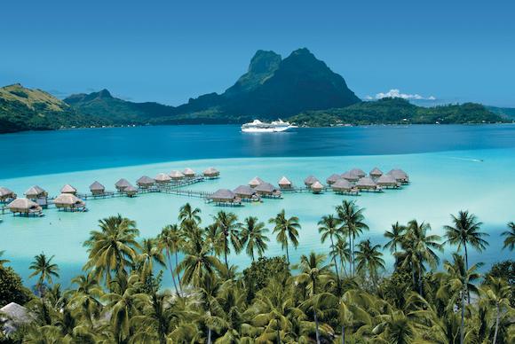 Bora Bora com cruzeiro Paul Gauguin