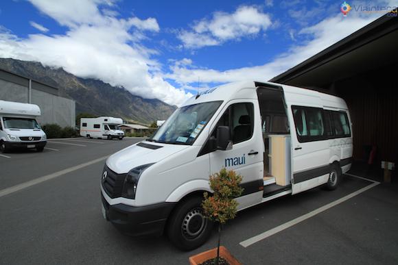 Dando adeus a nossa casinha ambulante na NZ