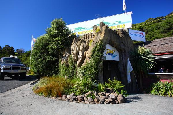 Dive Tutukaka na Nova Zelândia