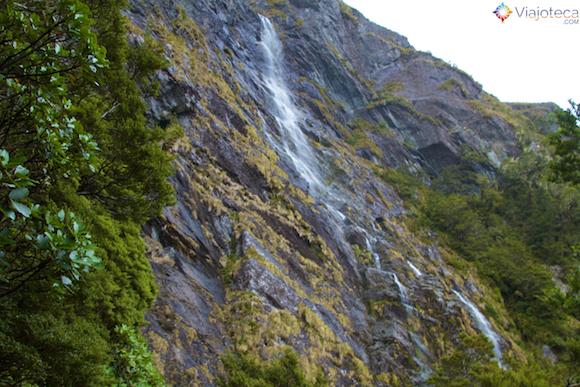 Earland Falls Routeburn Track Nova Zelândia