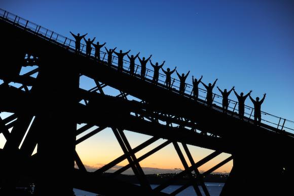 Por do Sol em Sydney
