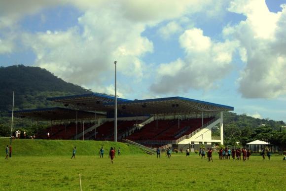 Estádio Nacional de Rugby em Apia
