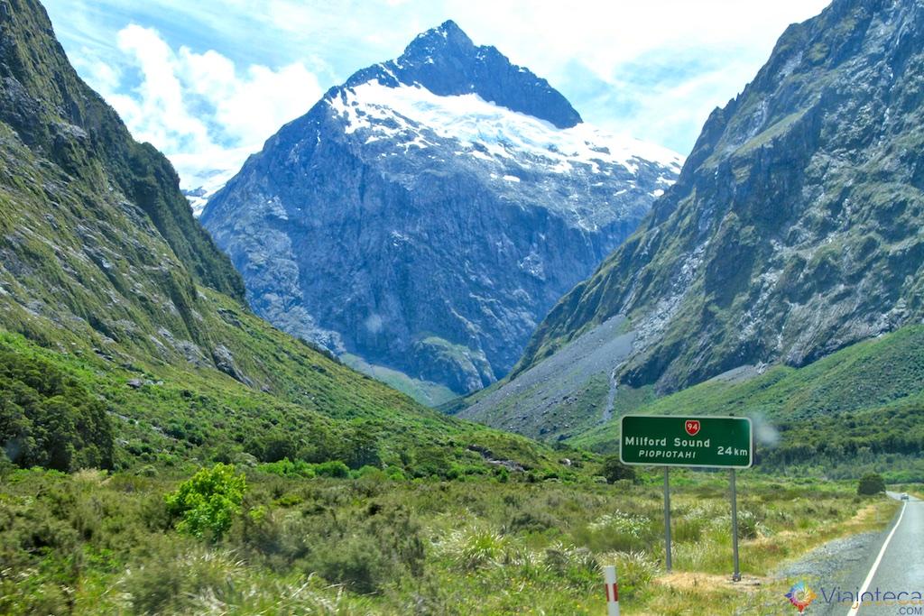 Paisagem Nova Zelândia
