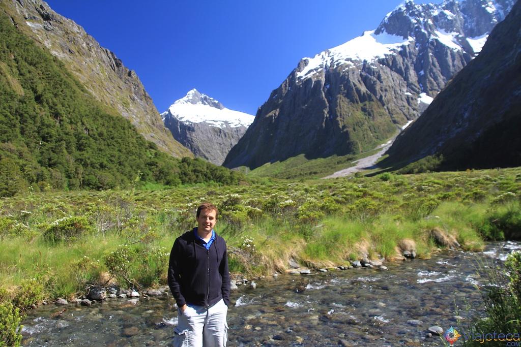 Estrada para o Milford Sound na Nova Zelândia 72