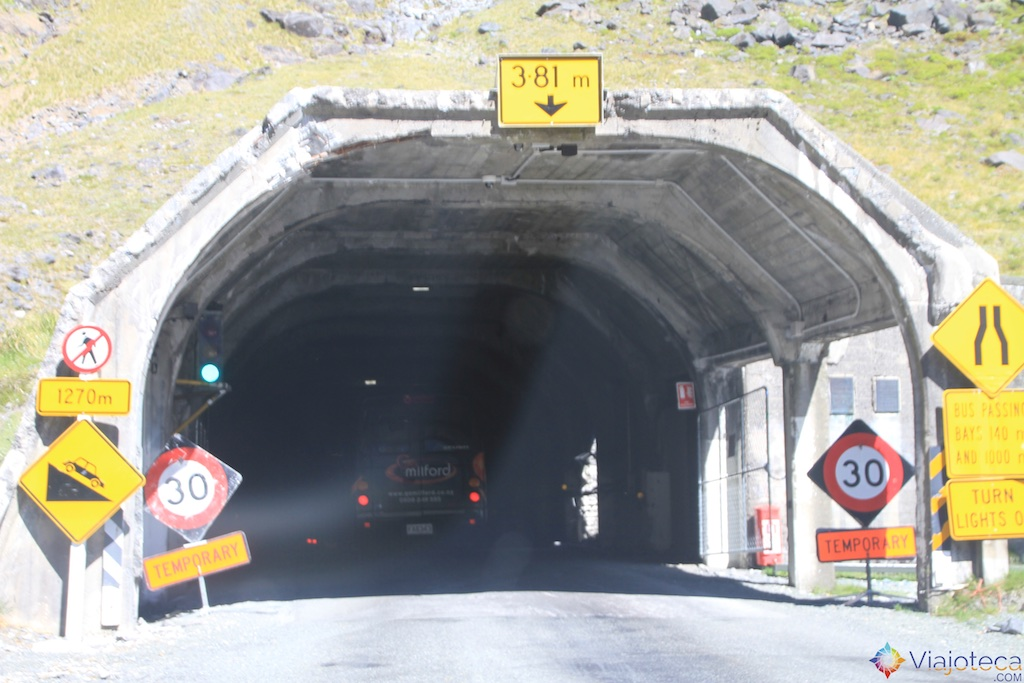 Entrada do Homer Tunel
