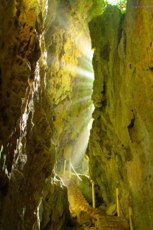 Fenda Geológica em Niue