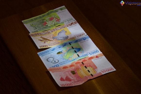 Dinheiro da Polinésia Francesa