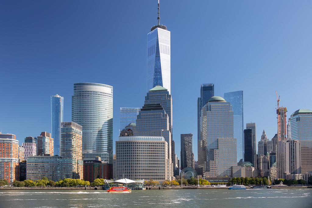 Freedom Tower em Lower Manhattan