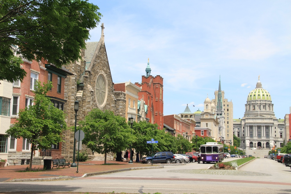 Harrisburg A capital da Pennsylvania