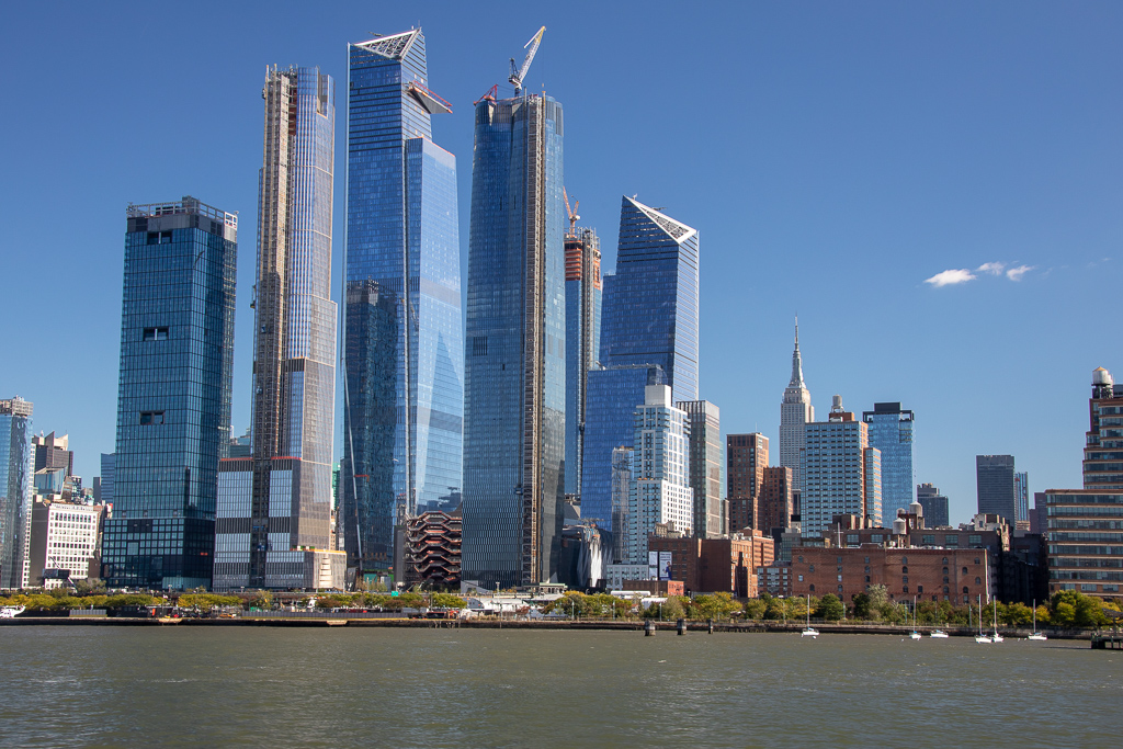 Hudson Yards a nova area de negoocios de Nova York