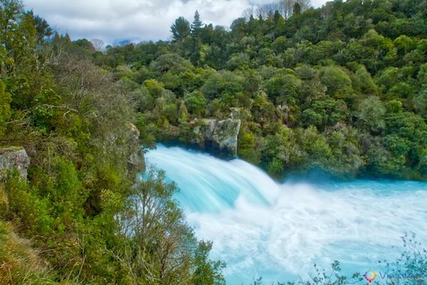 Huka Falls - Cachoeira Nova Zelândia 10