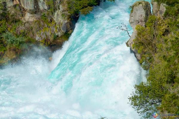 Huka Falls - Cachoeira Nova Zelândia 2
