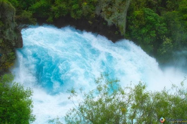 Huka Falls - Cachoeira Nova Zelândia 20