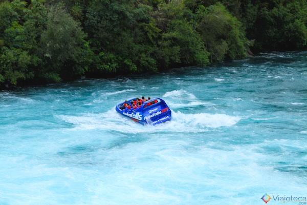 Huka Falls - Cachoeira Nova Zelândia 21
