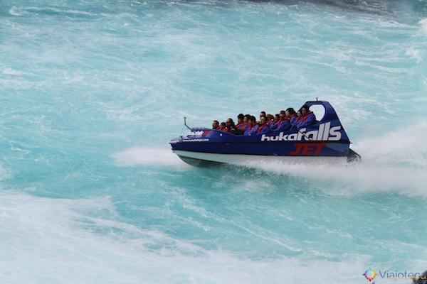 Huka Falls - Cachoeira Nova Zelândia 24