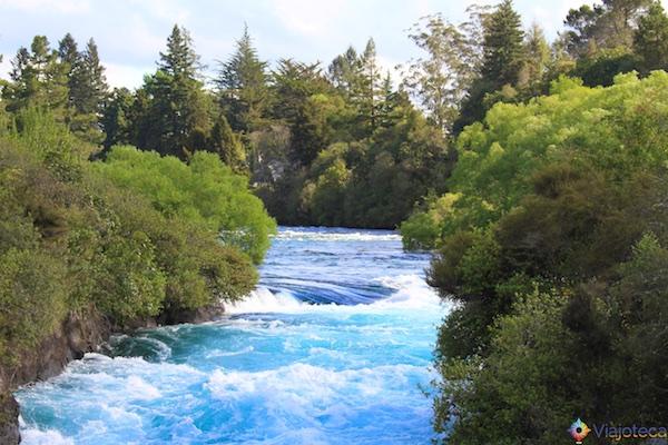 Huka Falls - Cachoeira Nova Zelândia 29