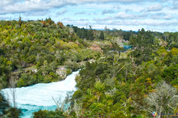 Huka Falls - Cachoeira Nova Zelândia 3
