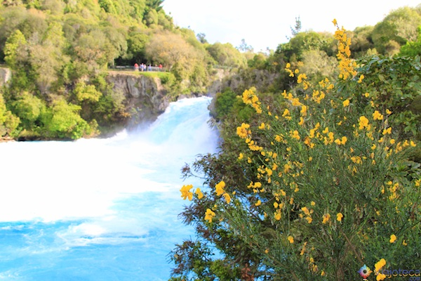 Huka Falls - Cachoeira Nova Zelândia 30