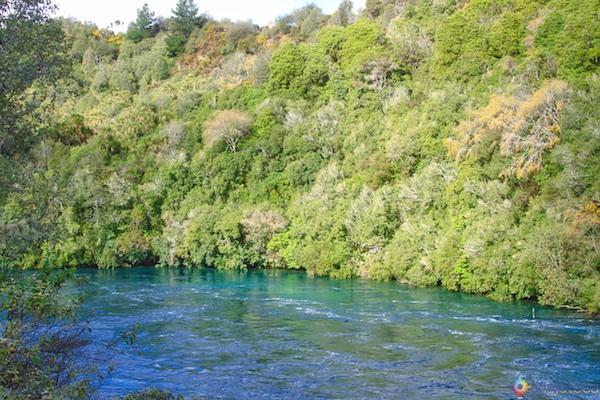 Huka Falls - Cachoeira Nova Zelândia 31