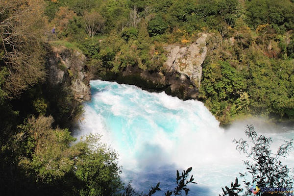 Huka Falls - Cachoeira Nova Zelândia 34