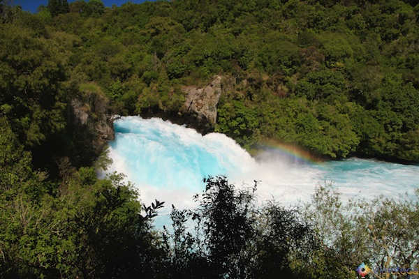 Huka Falls - Cachoeira Nova Zelândia 38