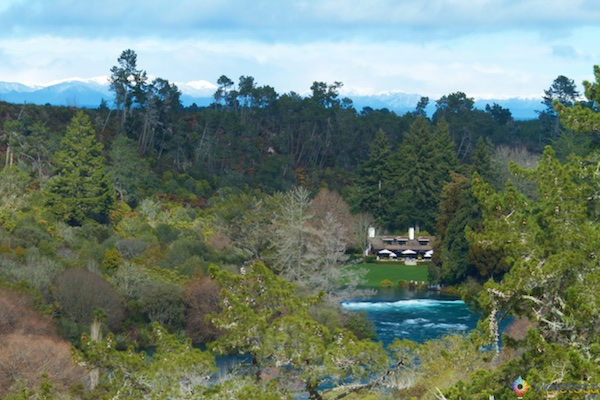 Huka Falls - Cachoeira Nova Zelândia 4