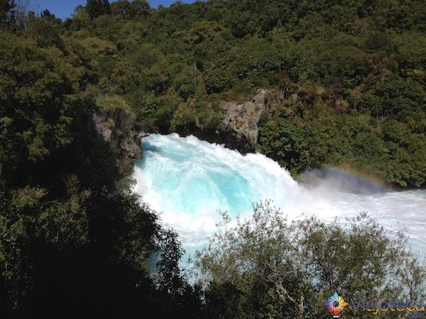 Huka Falls - Cachoeira Nova Zelândia 44
