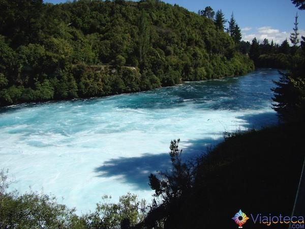 Huka Falls - Cachoeira Nova Zelândia 45