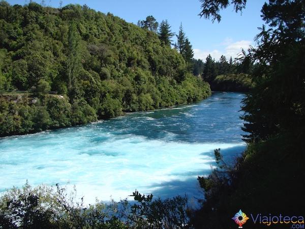 Huka Falls - Cachoeira Nova Zelândia 46