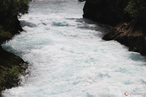 Huka Falls - Cachoeira Nova Zelândia 53