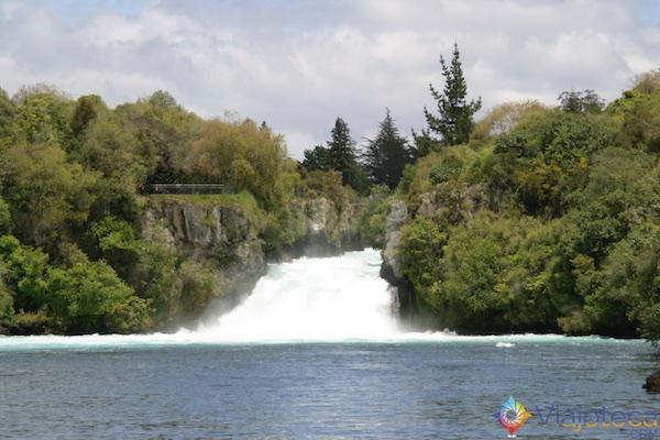Huka Falls - Cachoeira Nova Zelândia 55