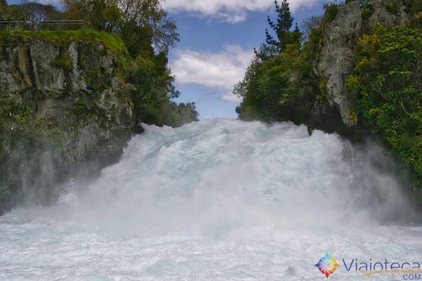 Huka Falls - Cachoeira Nova Zelândia 56